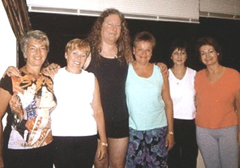 Ilse and friends  with Erich Schiffmann in Tampa